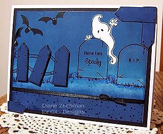Here lies Spooky diane zechman