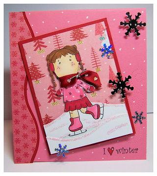 I heart winter skater