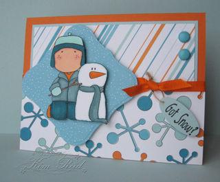 Dec - Sugarplum Snowman