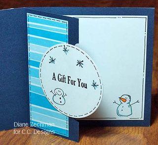 Snowbunnies gift card 2 diane zechman