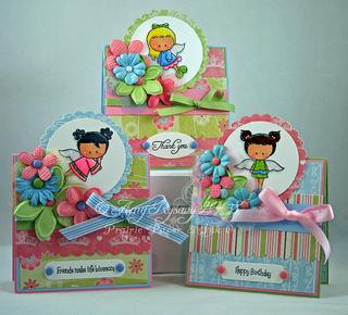 CCD Angels Everywhere Card Trio by AmyR