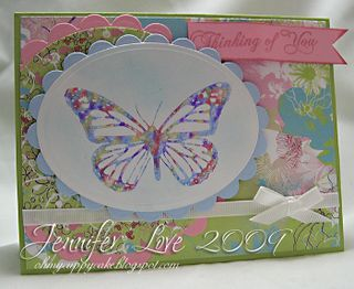 Watercolor butterfly jennifer love