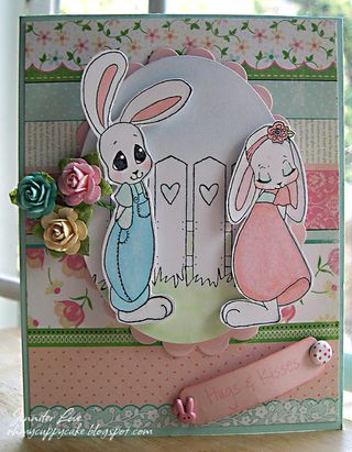 Shy bunnies Jennifer Love