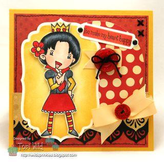 Queen of Hearts Tori Wild