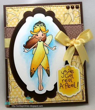 November Stamps April Banana Tori Wild