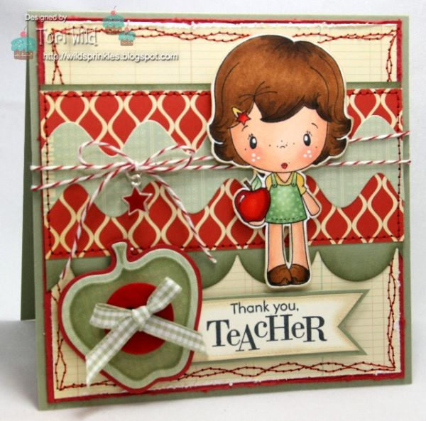 Teacher Honey Review Card Tori Wild