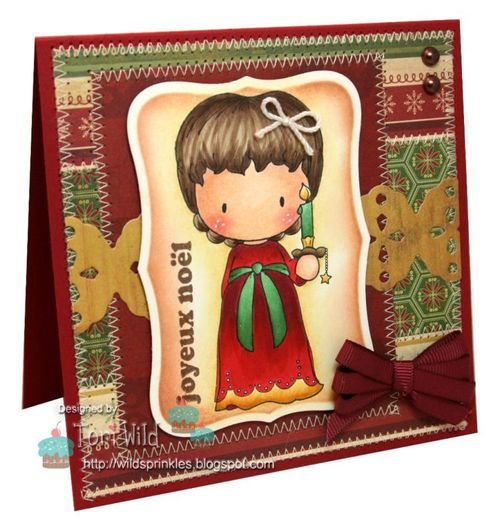 Sugarplum Christmas Kit by Tori Wild