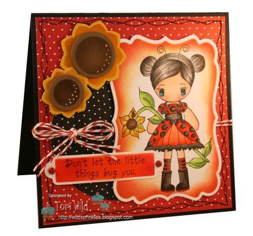 Ladybug Lolita by Tori Wild