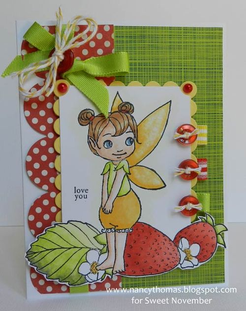 Nancy Thomas Flitter Friend Strawberry