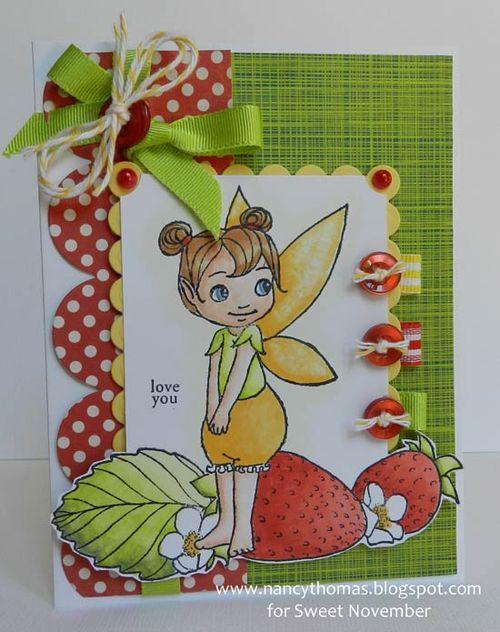 Nancy Thomas Flitter Friend Strawberry