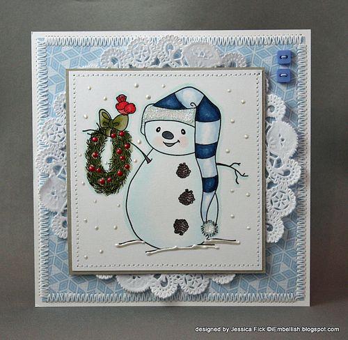 JessFick christmas wreath snowman (2)