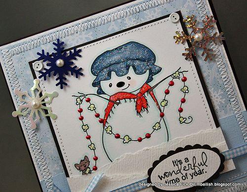 JessFick snowgirl card