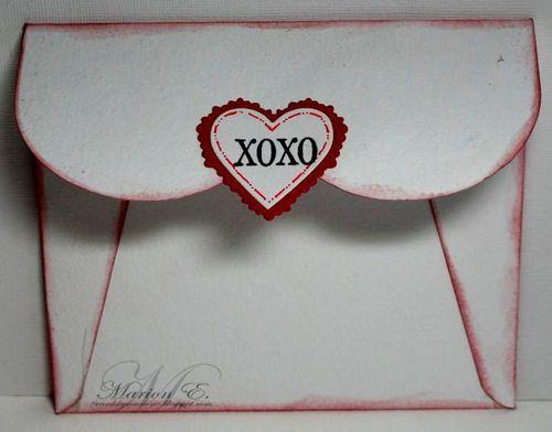 12 5 11 Birgitta blowing hearts enveloppe and die cut hearts back