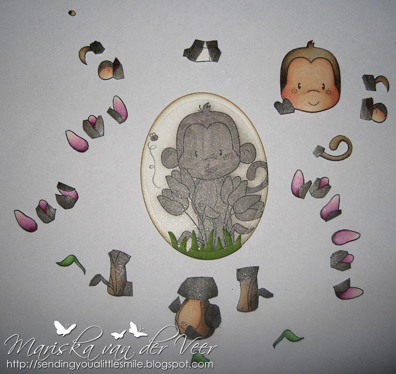 Tulip Monkey little pieces
