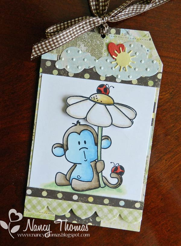 Nancy Thomas Baby Gift Tag