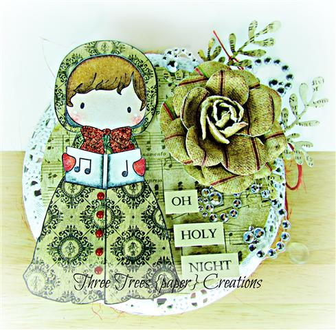 Deanne Oh Holy Night Tin (Small)