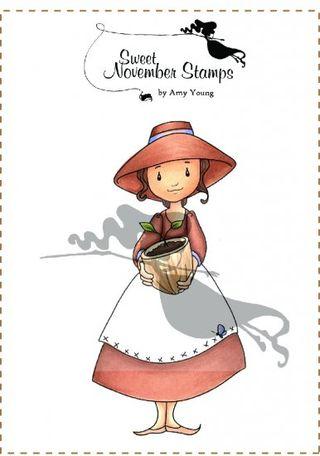 Garden Girl Gertie DIGI