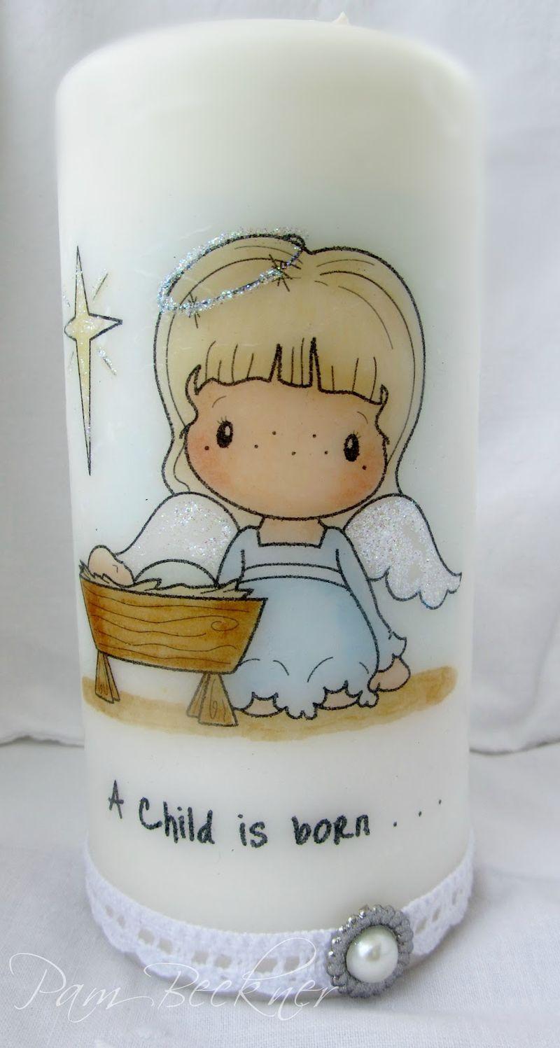 Swiss Pixie Angel and Baby Jesus 11