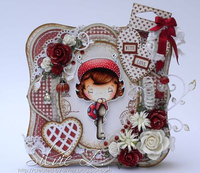C.C.Designs - Ladybug Honey front1