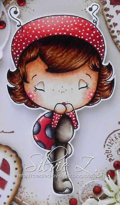 C.C.Designs - Ladybug Honey detail1